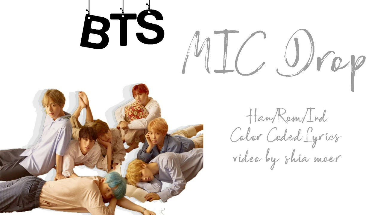 Lirik Lagu BTS Mic Drop