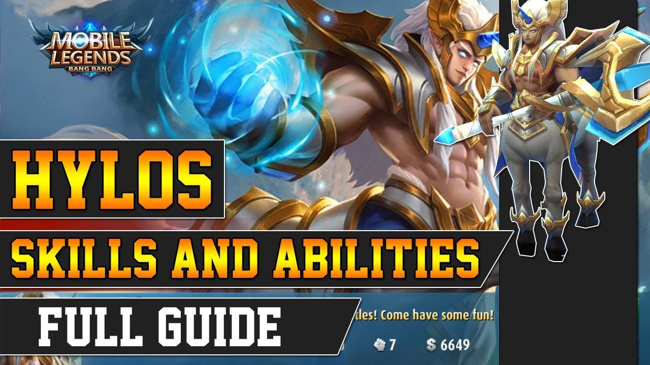 Hylos Skills and Abilities