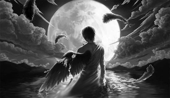 Sayap Malaikat Dipatahkan dan Diasingkan di Bumi
