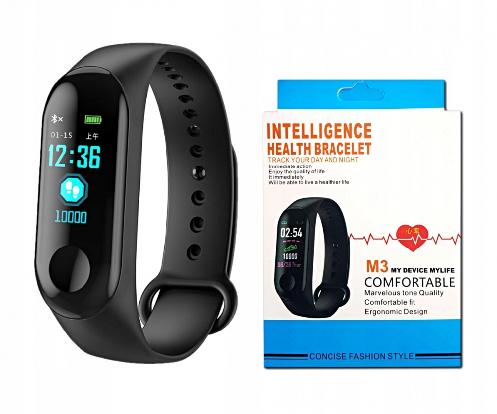 Specifications M3 smart band