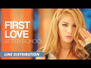 Lirik Lagu First Love Afterschool