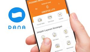 Cara Top up Saldo Dana di Pos Giro Mobile (PGM)