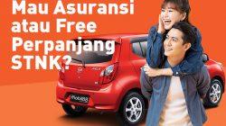 Free asuransi TLO atau perpanjang STNK